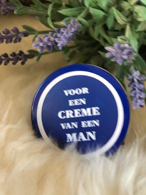 voor een CREME van een MAN