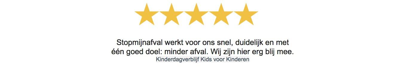 Stopmijnafval review Kids voor Kinderen