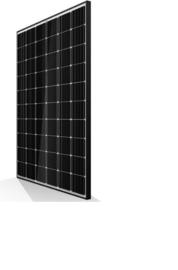 310W Mono PERC Zonnepanelen - Black/White