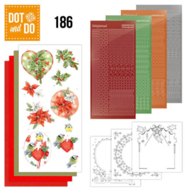 Dot & Do nr. 186 Red Holly Berries