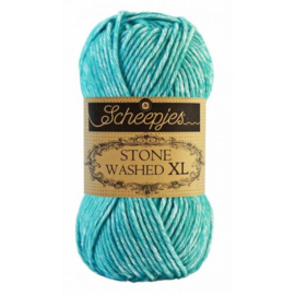 Stone Washed XL Turquoise nr. 864