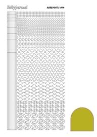 Dots nr. 14 Mirror Yellow nr. STDM14E