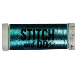 Stitch  + Do garen kleur: Hobbydots Turquoise
