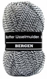 Bergen zwart/grijs/wit nr. 7