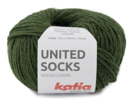 United Socks Col. 22 - Mosgroen