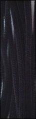 Chenille draad Zwart
