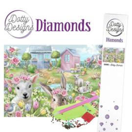 Dotty Designs Diamonds - Baby Animals DDD10003