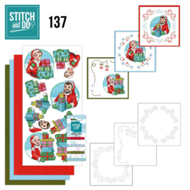 Stitch and Do 137 - Yvonne Creations - Big Guys - Christmas