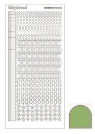 Dots nr. 16 Mirror Lime nr. STDM16C