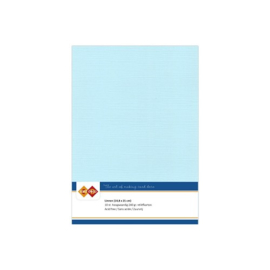 Linnenkarton - A5 - Babyblauw