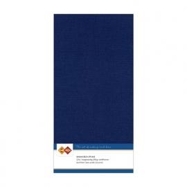 Linnenkarton - Vierkant  - Donker blauw nr. LKK-4K30