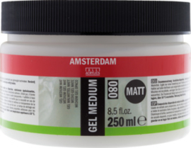 Amsterdam gel medium Mat 250 ml  (080)