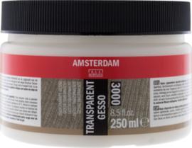 Amsterdam Gesso transparant 250 ml  (3000)
