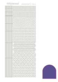 Dots nr. 5 Mirror Purple nr. STDM059