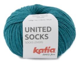 United Socks Col. 23 - Groenblauw
