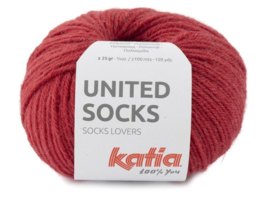 United Socks Col. 18 - Aardbeirood