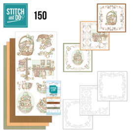 Stitch and Do 150 - Yvonne Creations - Newborn STDO150
