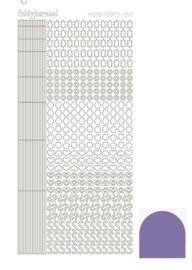 Dots nr. 10 Mirror Violet nr. STDM106