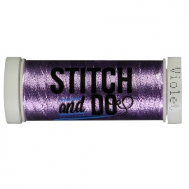 Stitch + Do garen kleur: Hobbydots Violet