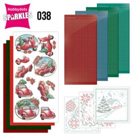 Sparkles Set 38 - Yvonne Creations - Christmas Village - Christmas Transportation