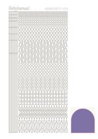 Dots nr. 15 Mirror Purple nr. STDM159
