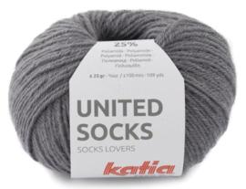 United Socks Col. 9 - Donker grijs