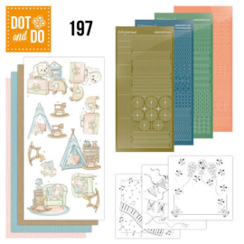 Dot and Do 197 - Yvonne Creations - Newborn DODO197