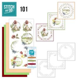 Stitch & Do nr. 101 Spring Life