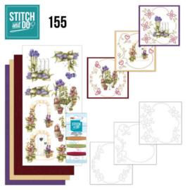Stitch and Do 155 - Precious Marieke - Beautiful Garden - Allium