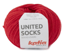 United Socks Col. 16 - Rood