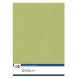Linnenkarton - A4 - Avocado Green