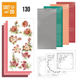 Dot & Do nr. 130 Timeless Red Flowers