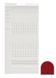 Dots nr. 15 Mirror Red nr. STDM154