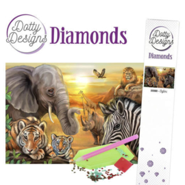 Dotty Designs Diamonds - Safari DDD10001