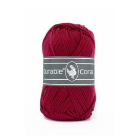 Durable Coral nr. 222 Bordeaux