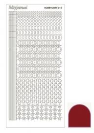 Dots nr. 16 Mirror Red nr. STDM164