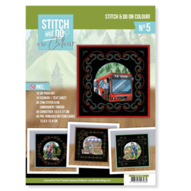 Stitch and Do on Colour 005 - Yvonne Creations - Big Guys professions
