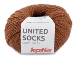 United Socks Col. 2 - Roestbruin