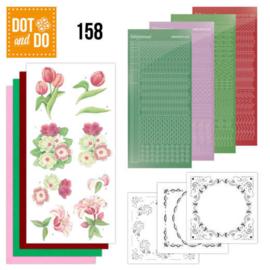 Dot & Do nr. 158 Red Flowers