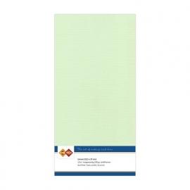 Linnenkarton - Vierkant - Licht groen nr. LKK-4K19