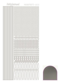 Dots nr. 3 Mirror Silver nr. STDM038