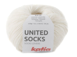 United Socks Col. 5 - Ecru
