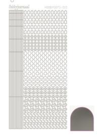 Dots nr. 10 Mirror Silver nr. STDM108