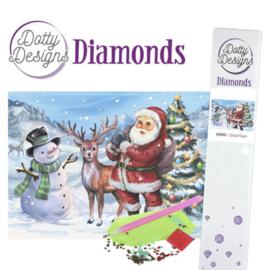 Dotty Designs Diamonds - Santaclaus DDD1019
