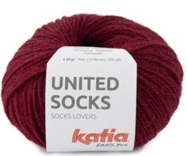 United Socks Col. 17 - Bordeauxpaars