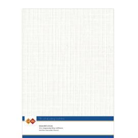 Linnenkarton - A4 - Gebroken wit