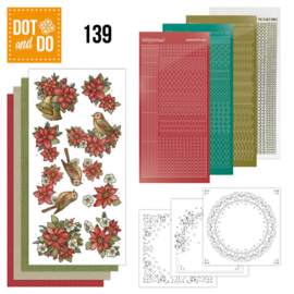 Dot & Do nr. 139 Poinsettia Christmas