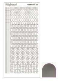 Dots nr. 16 Mirror Silver nr. STDM168
