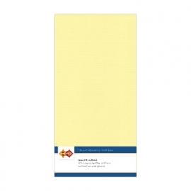 Linnenkarton - Vierkant - Licht geel nr. LKK-4K03