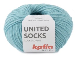 United Socks Col. 24 - Waterblauw